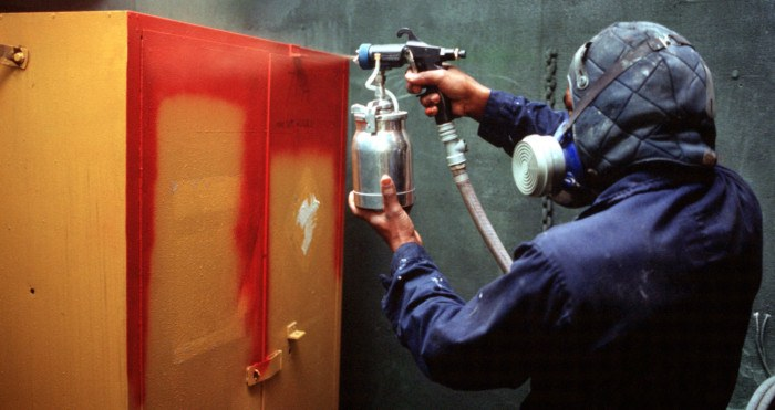 how to use a spray paint gun