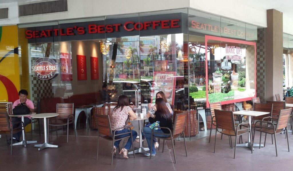 Seattle's Best Coffee service hot